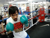In The Ring With Manny Pacquiao