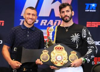 Final press conferance: Lomachenko and Linares are ready to go