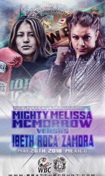 McMorrow vs. Silva for the vacant WBC female flyweight title