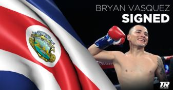 Vasquez inks contract with Top Rank
