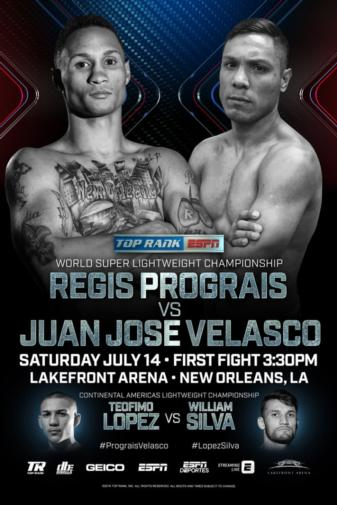 Regis Prograis defends title against Juan Jose Velasco