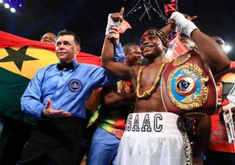Issac Dogboe to defend 122-pound belt December 8 in New York City