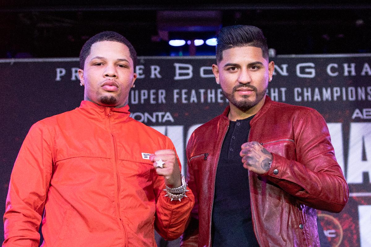 Gervonta Davis And  Abner Mares Come Face To Face In LA
