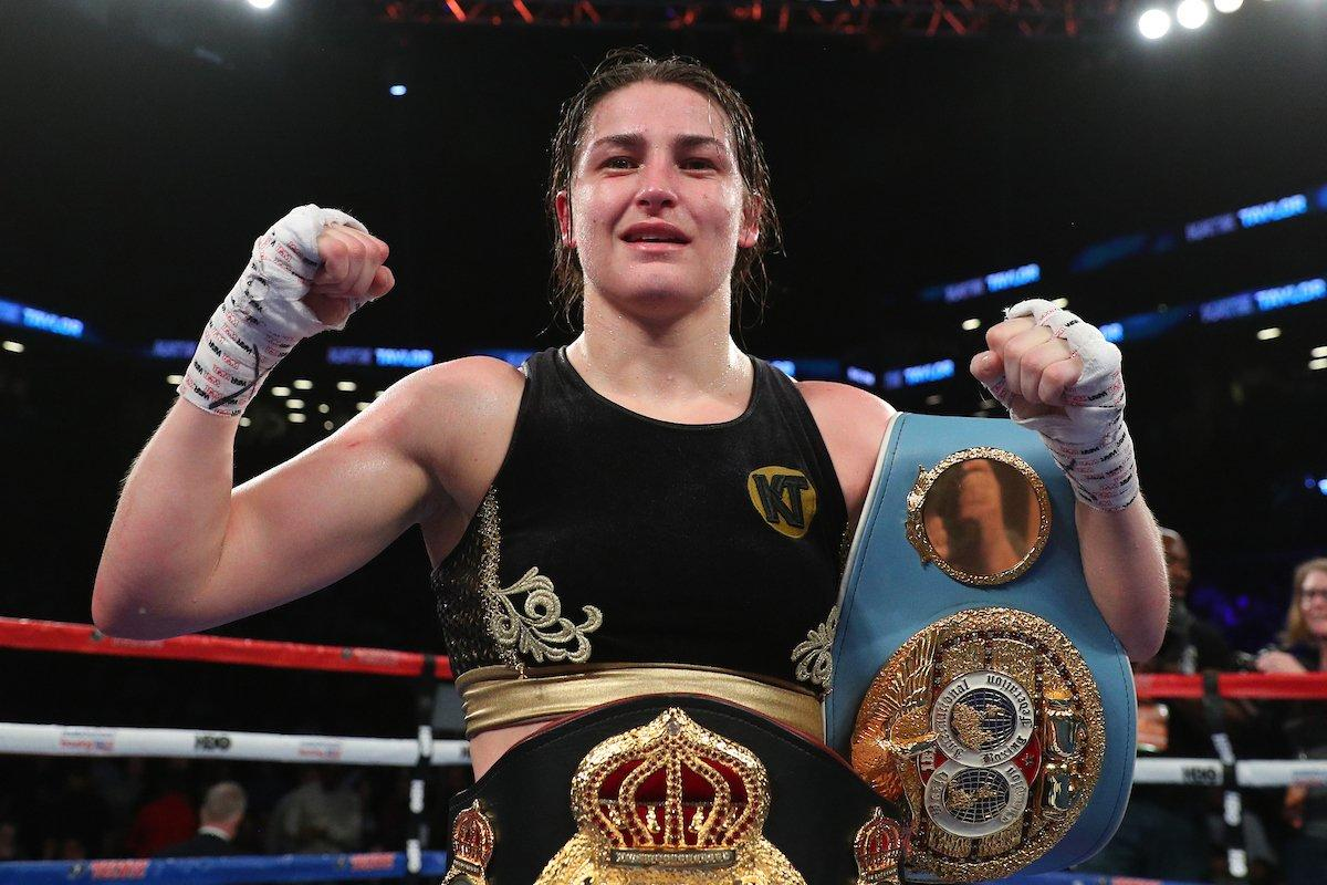 The 2018 Maxboxing female fighter of the year is Katie Taylor