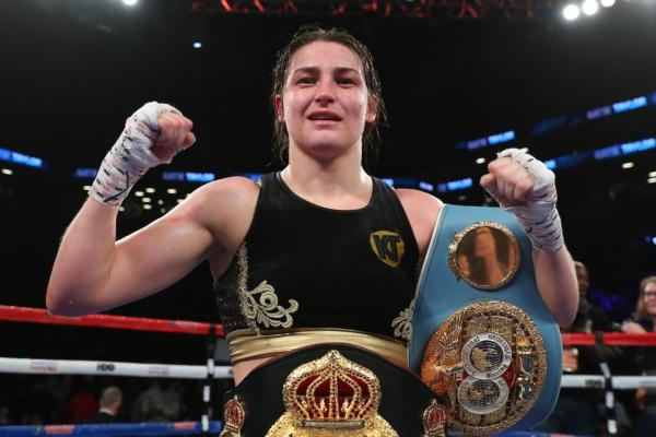 Katie Taylor aims to become an all time great female boxer