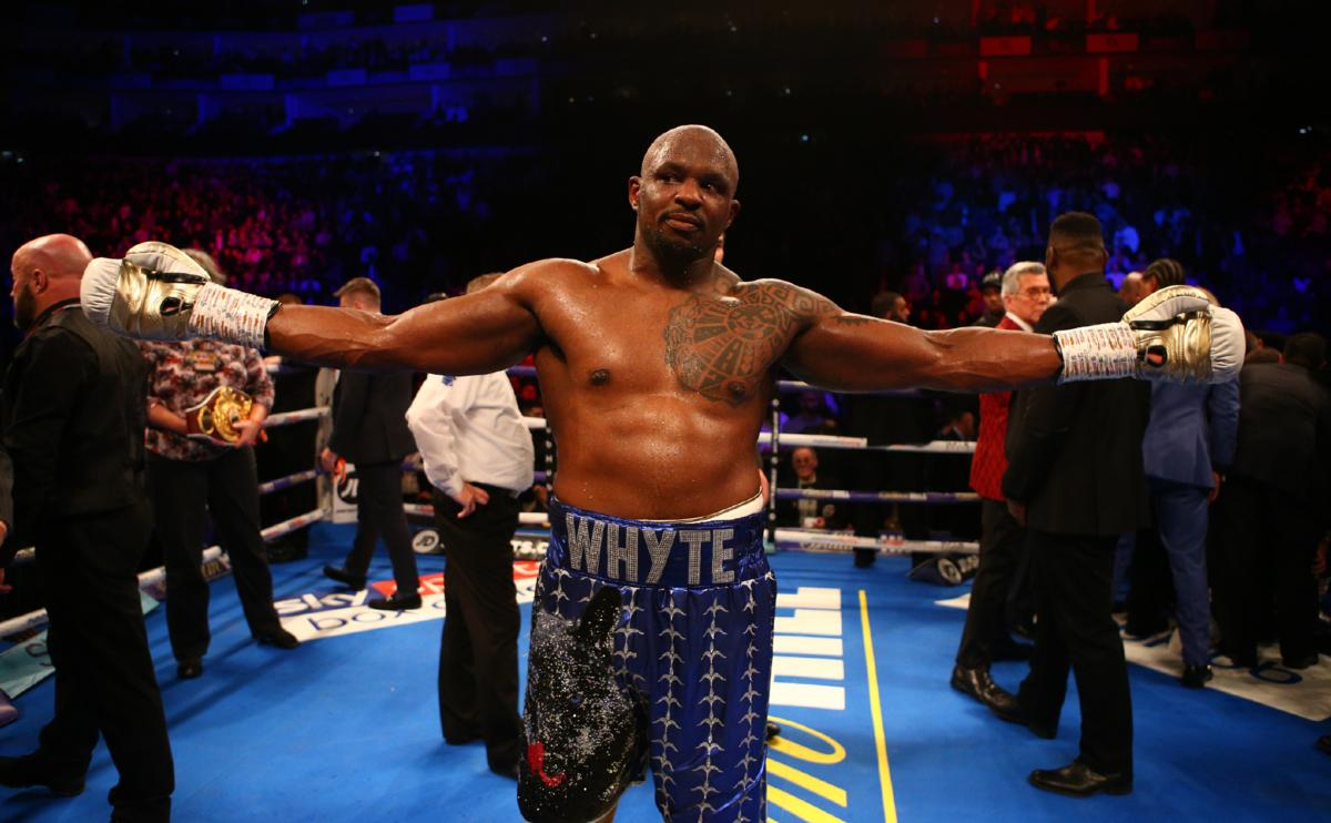 Dillian Whyte Wants Anthony Joshua Fight Now