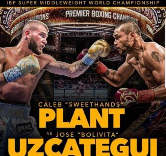 Plant Floors Uzcategui Twice, Wins IBF Super Middleweight Title