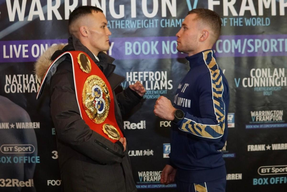 Warrington Confident Of Retaining Title,Frampton Relaxed, Prepared For Tough Fight