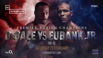 James DeGale vs. Chris Eubank Jr. a go Feb.23