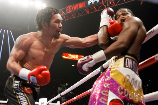 Even at 40, Senator Manny Pacquiao too good for Adrien Broner