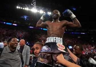 Terence Crawford and Amir Khan to hold news conferance in London