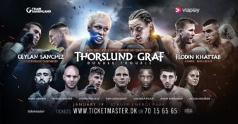 Dina Thorslund wins wide decision over Alesia Graf in Denmark