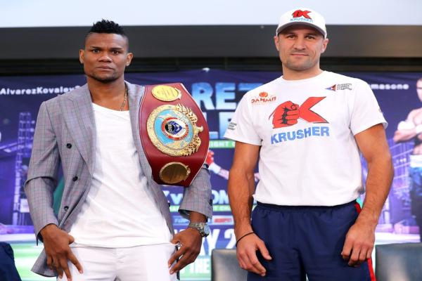 Eleider Alvarez and Sergey Kovalev confident two days before rematch