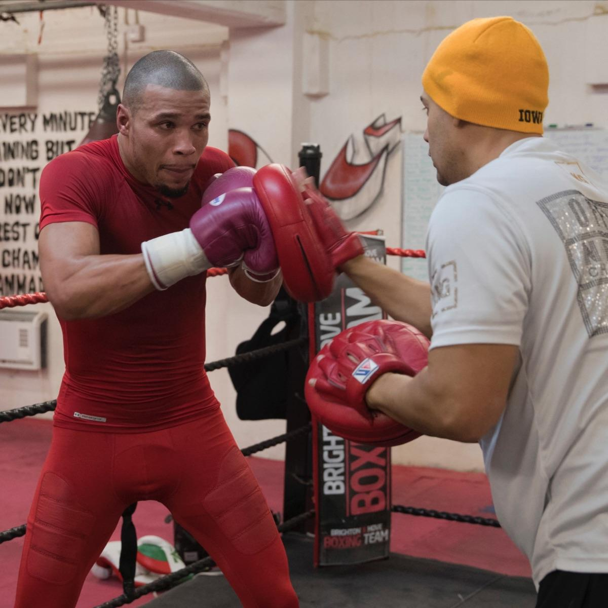 Chris Eubank Jr. Locks Himself Away In Camp With New Trainer
