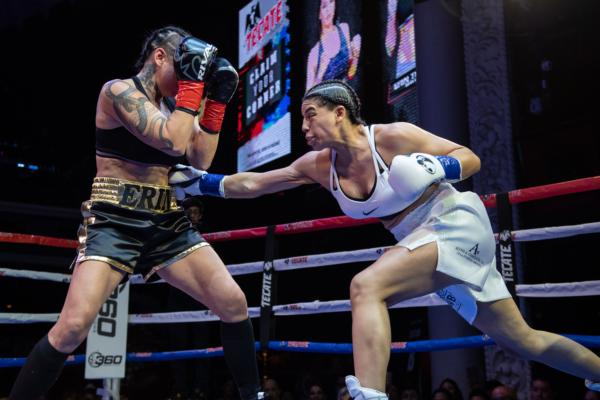Maricela Cornejo and Brian Ceballo notch wins at Hollywood Fight Nights