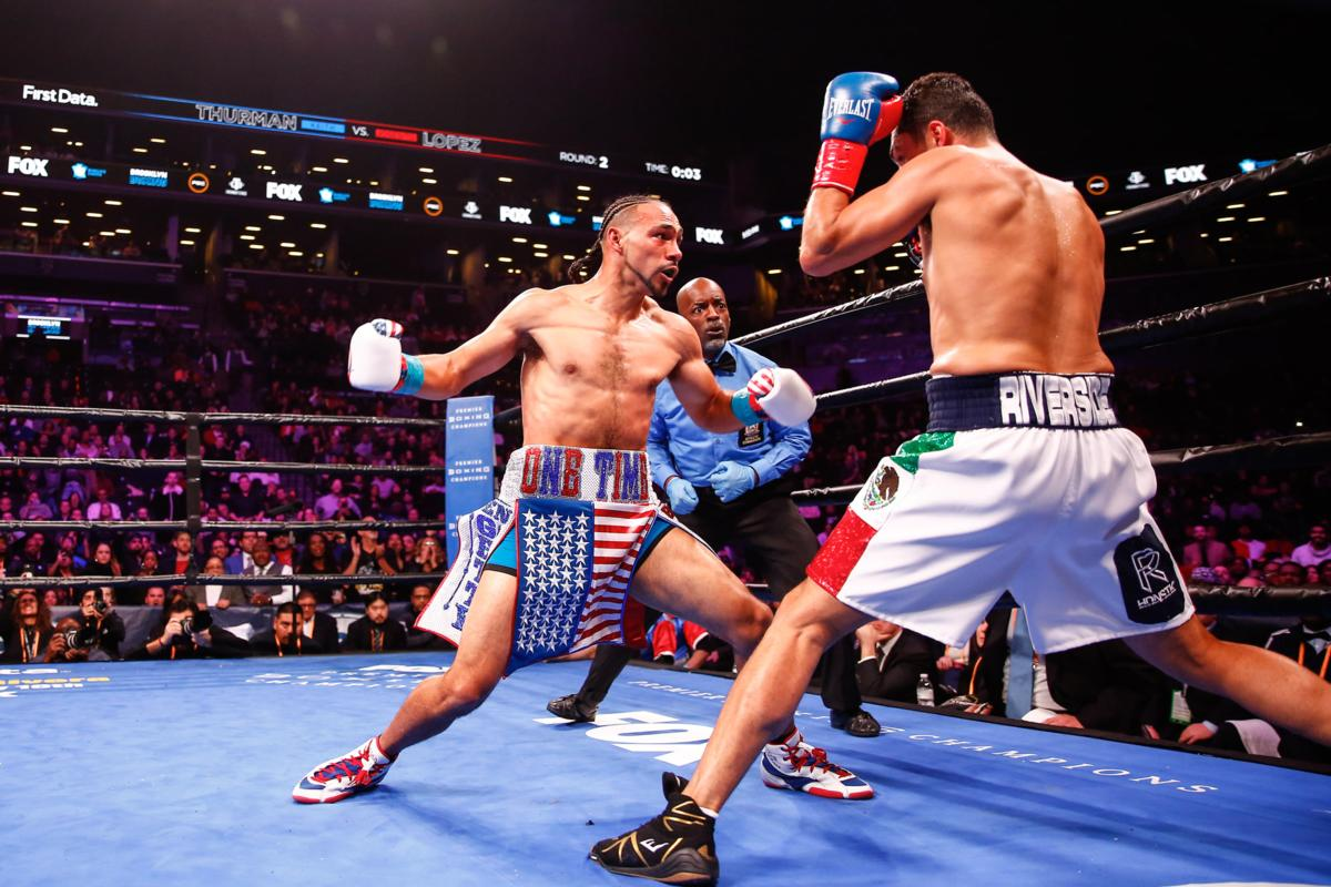 Keith Thurman shaky but solid against Josesito Lopez, eyes 'Pac-Man' fight