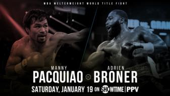 Pacquiao Plans 'Vintage Performance' Against Broner