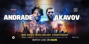 Demetrius Andrade back in the ring against Artur Akavov