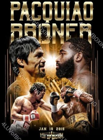 Pacquiao vs. Broner: Who ya got?