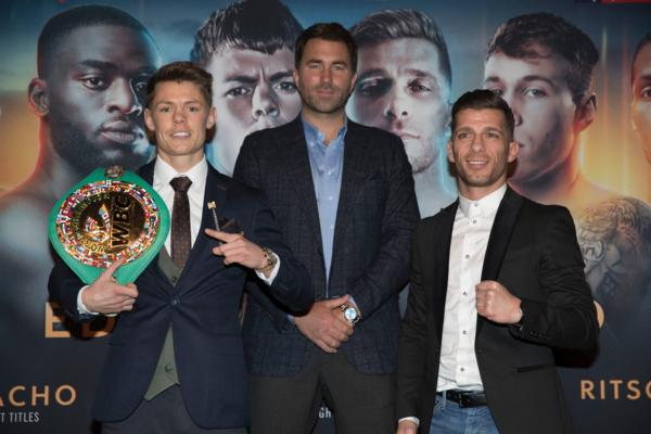 Charlie Edwards aims to be one of the greats of British boxing
