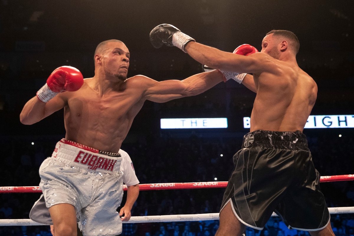 Eubank Jnr Dominates DeGale In London