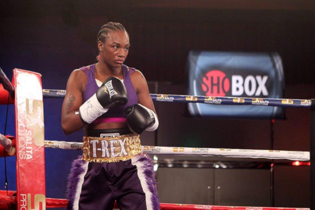Claressa Shields and Christina Hammer come face to face in New York