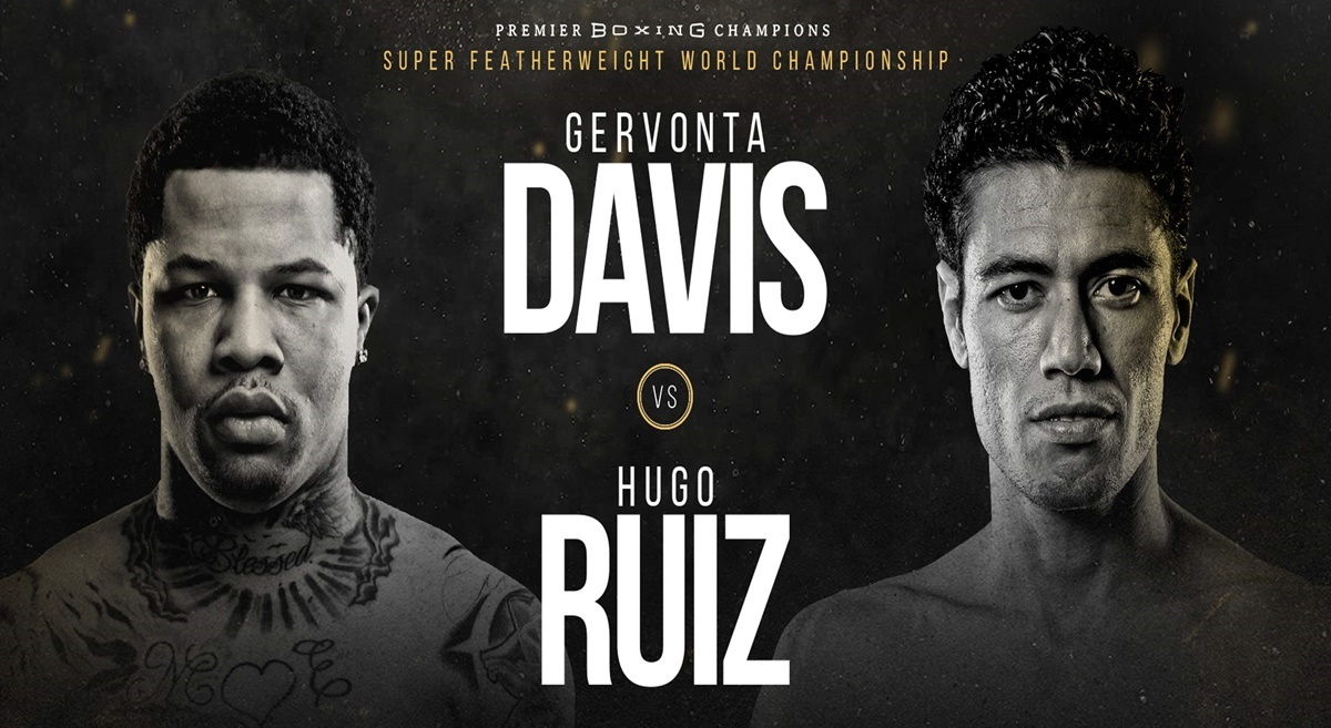 Hugo Ruiz's chances against knockout artist Gervonta Davis