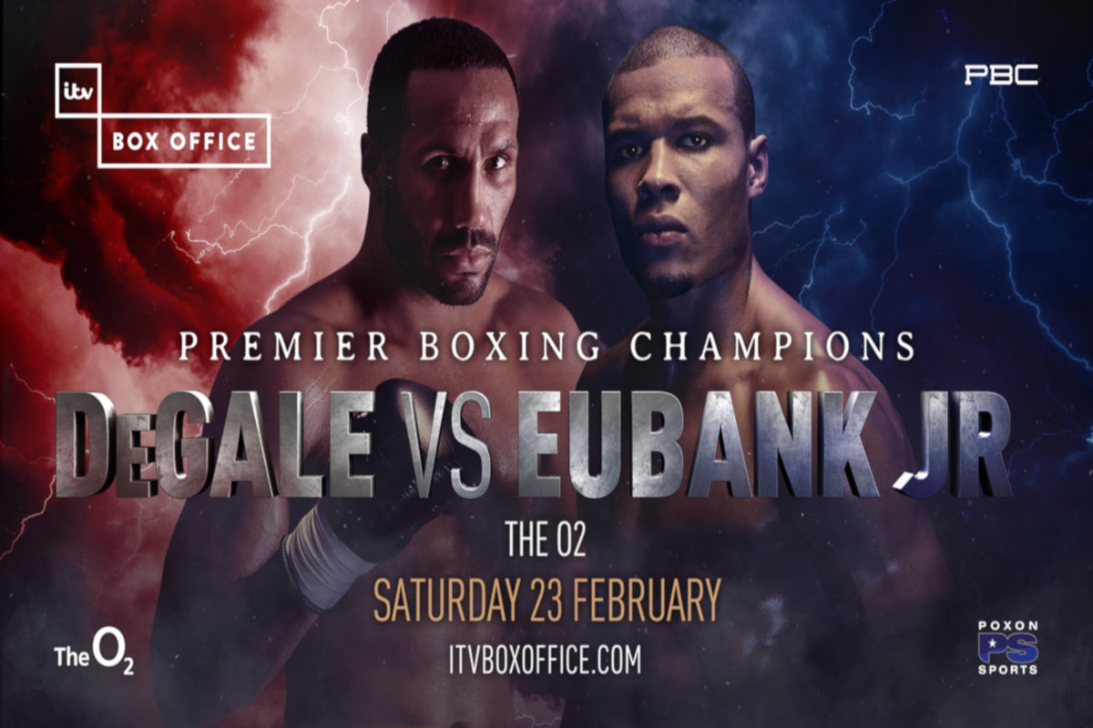 DeGale And Eubank Jr Hit The Roof At The O2