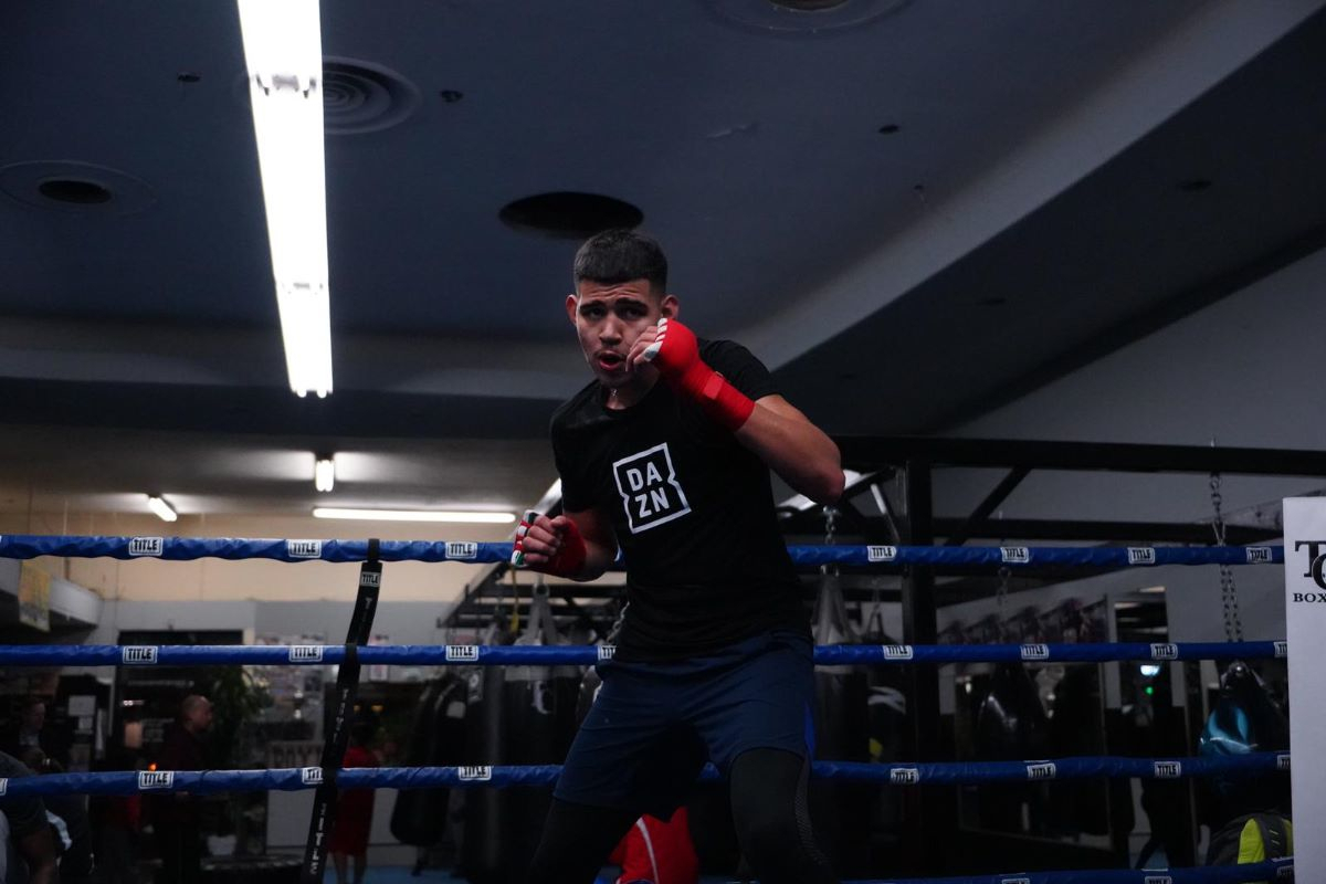 Diego Pacheco feels at home fighting in Tijuana