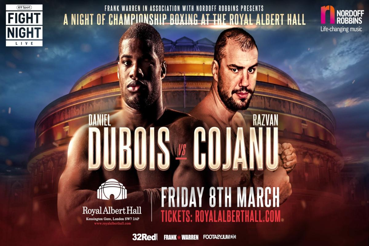 Daniel Dubois Not Fazed By Razvan Cojanu Comments