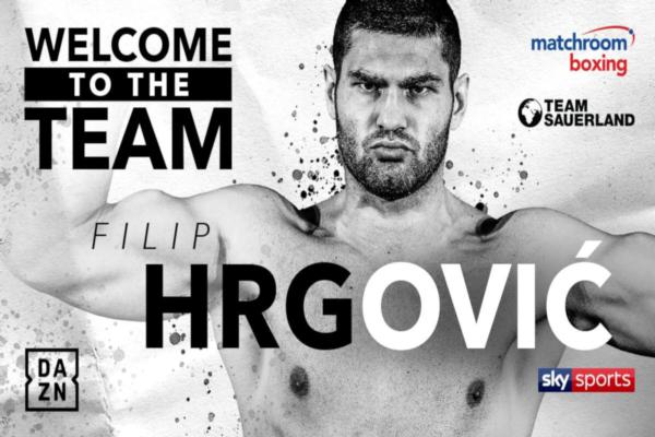 Filip Hrgović Signs Co Promotional Deal With Matchroom Boxing