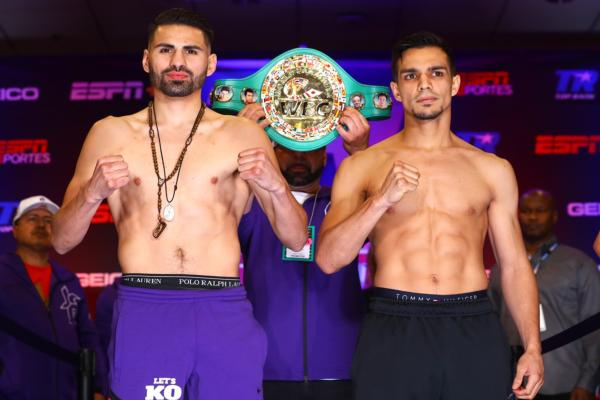 Jose Ramirez and Jose Zepeda weigh-in results