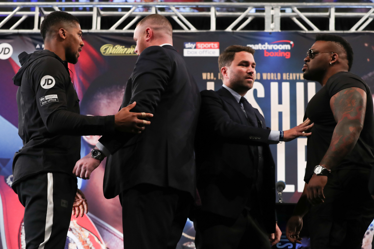 'Big Baby' Miller says Anthony Joshua has a rematch clause