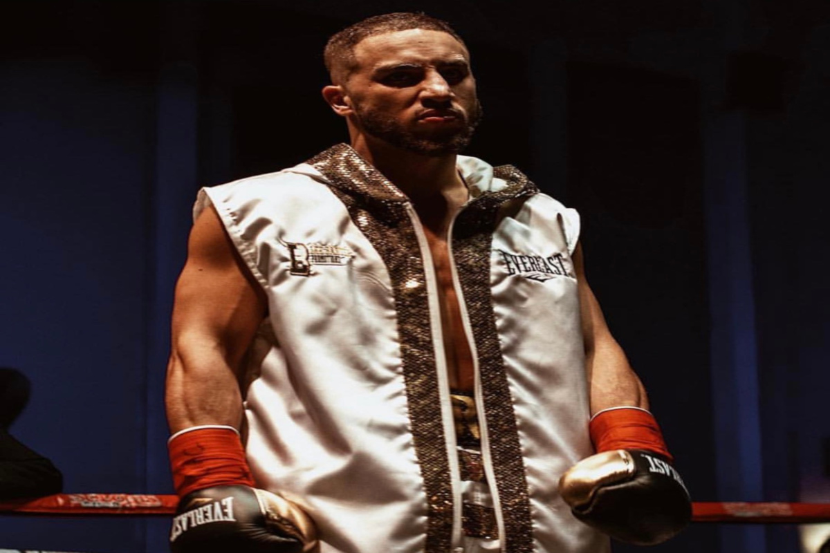 Kane Heron defends Canadian welterweight tItle in Edmonton