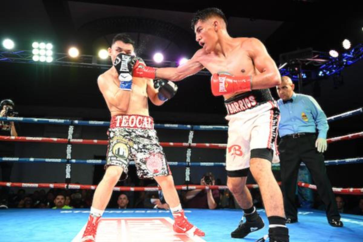 Luis Fernando Saavedra hands Mario Hernandez His First Defeat