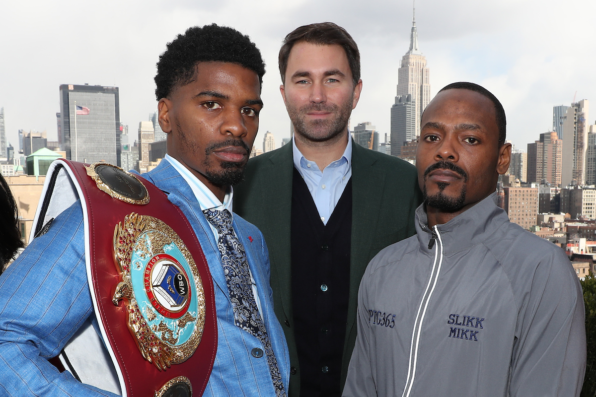 Maurice Hooker Aims To Land Big Fight In Dallas