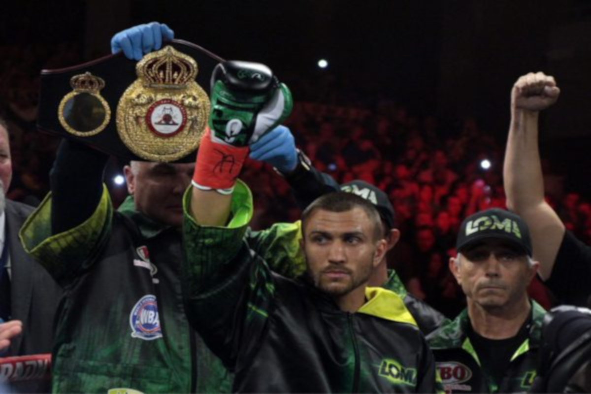 Vasyl Lomachenko set to defend title against Anthony Crolla April 12