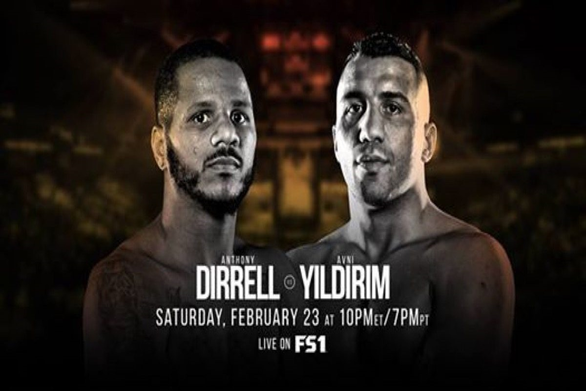 Anthony Dirrell and Avni Yildirim in WBC, super middleweight title fight