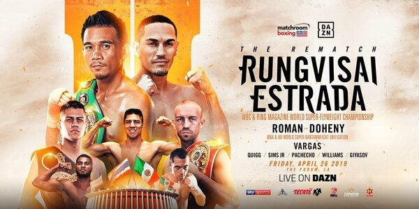 Rungvisai Vs. Estrada And Roman Vs. Doheny Press Conference Quotes