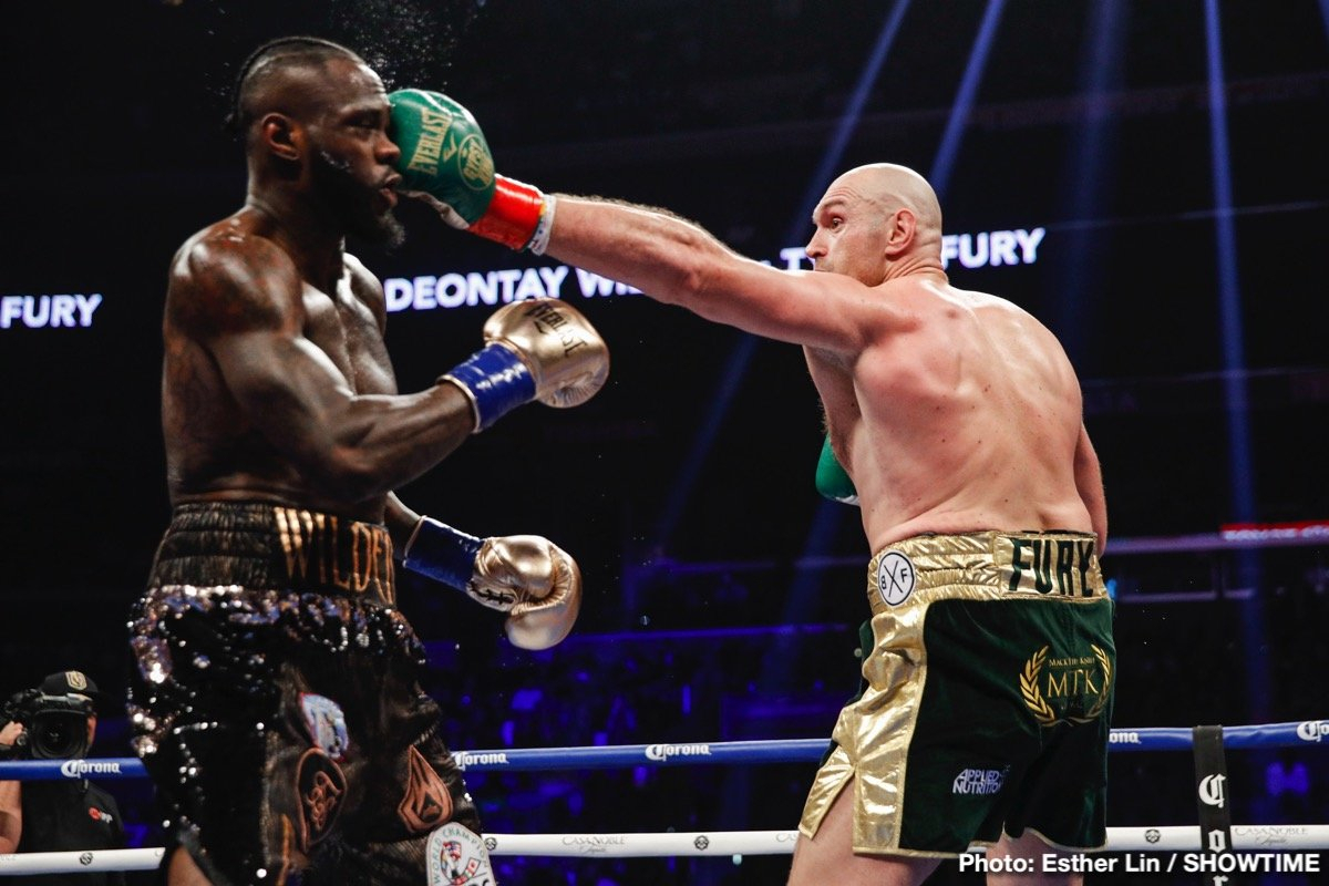 WBC president says Tyson Fury will not be next fight for Deontay Wilder