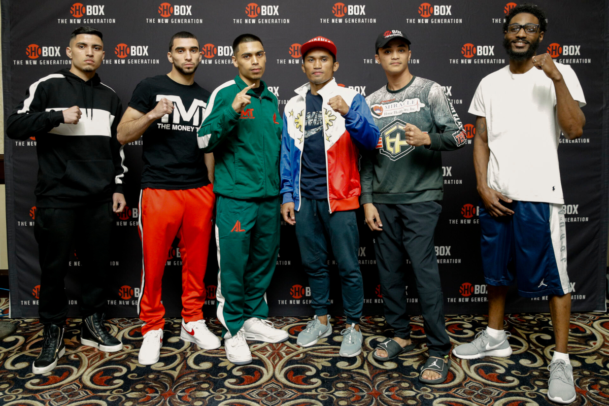 Unbeaten Prospects Make Weight Ahead Of Las Vegas Fight Night