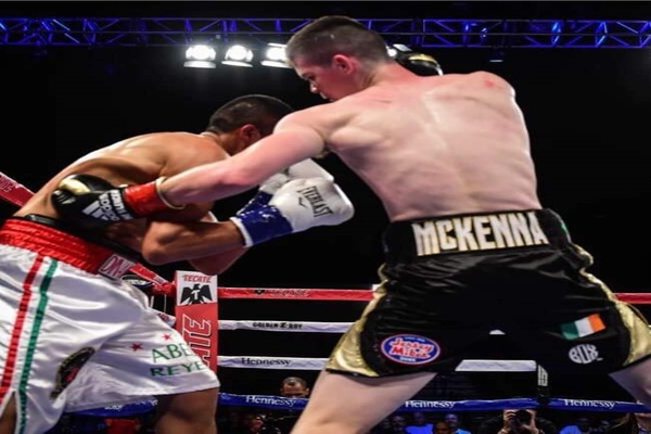Welterweight prospect Aaron McKenna kicks of 2019, March 30, on DAZN