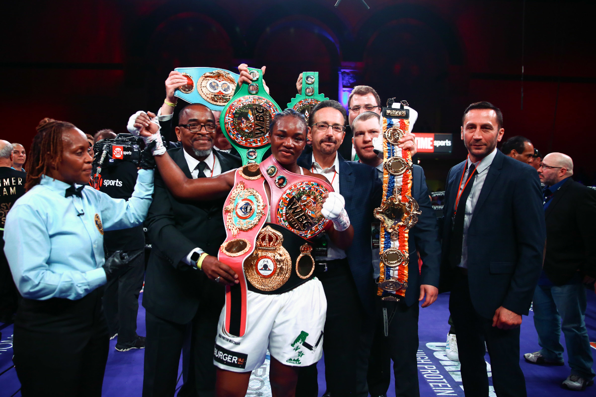 "Claressa Shields: ""I am The Greatest Woman Of All Time"""