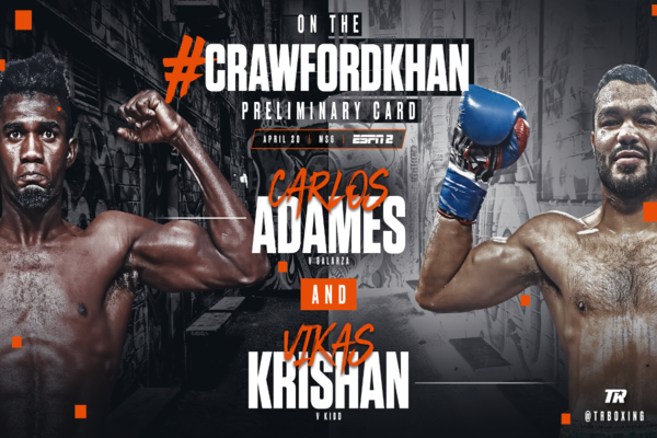 Terence Crawford fights Amir Khan on April 20 - undercard information