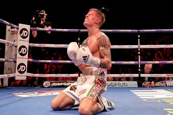 Little man with big dreams: Charlie Edwards wins a world title and keeps a promise