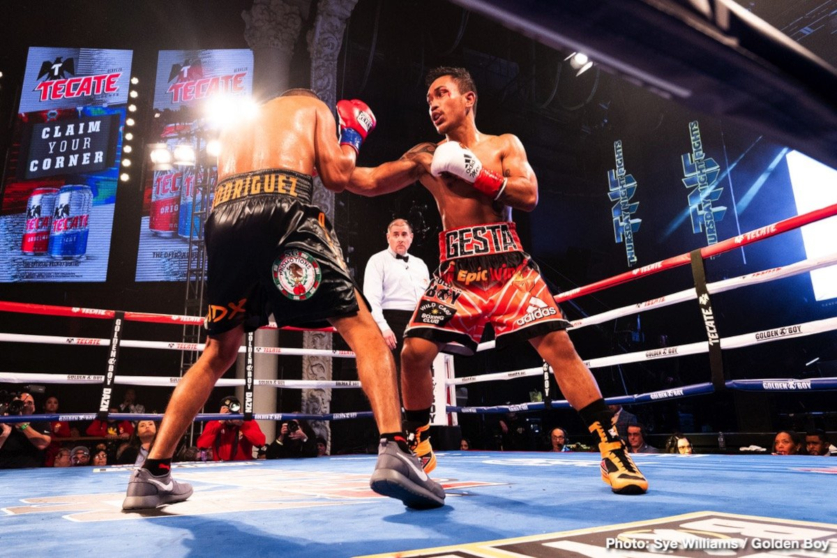 Juan Antonio Rodriguez scores upset win over Mercito Gesta