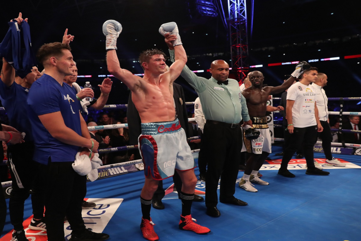 Luke Campbell is itching for a fight