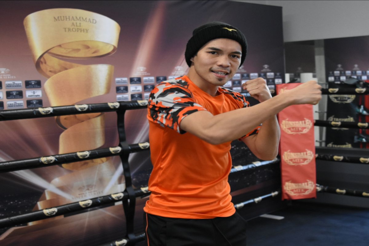 'The Filipino Flash' Is Fully Prepared To Face Zolani Tete