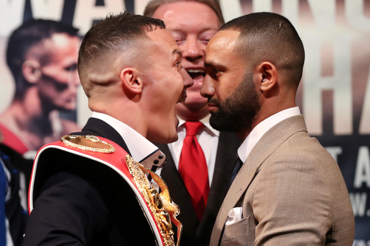 Josh Warrington And Kid Galahad Go Head To Head In Leeds