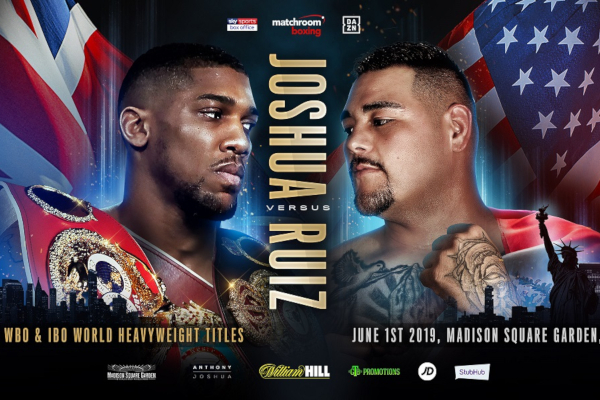 Anthony Joshua next fight confirmed as Andy Ruiz Jr, who calls him 'A Big Robot'
